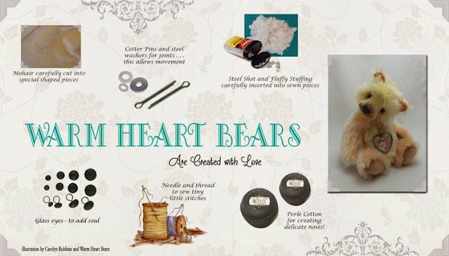 Warm Heart Bears are Created with Love
