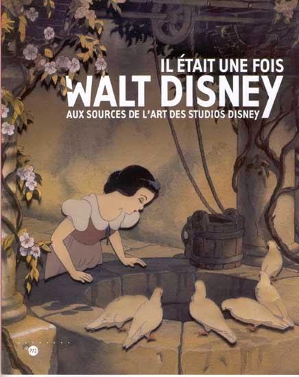 affiche de l'expo il était une fois Disney