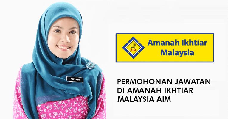 Jawatan Kosong di Amanah Ikhtiar Malaysia AIM