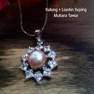Model Kalung Mutiara Lombok Terbaru