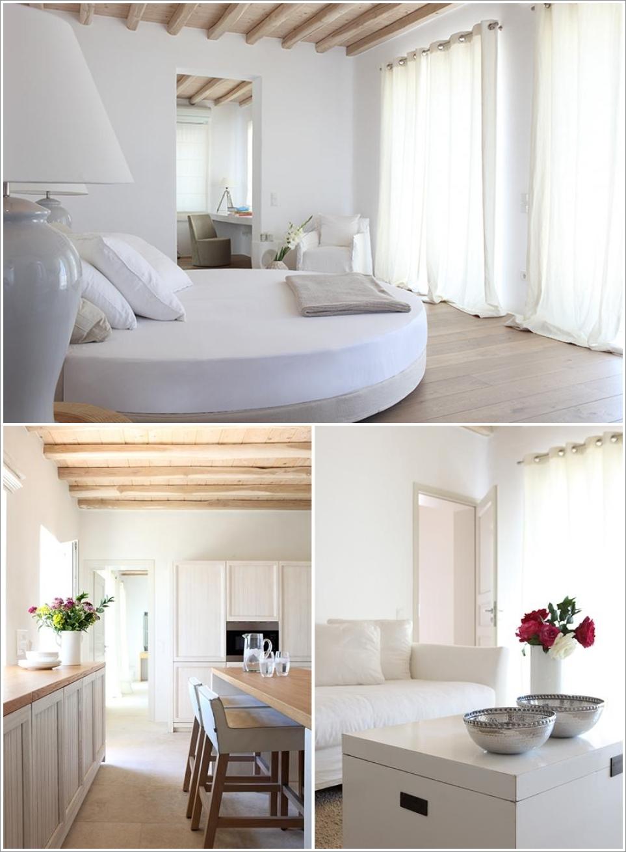 Deco chambre interieur grec d cor inspiration - Chambre interieur ...