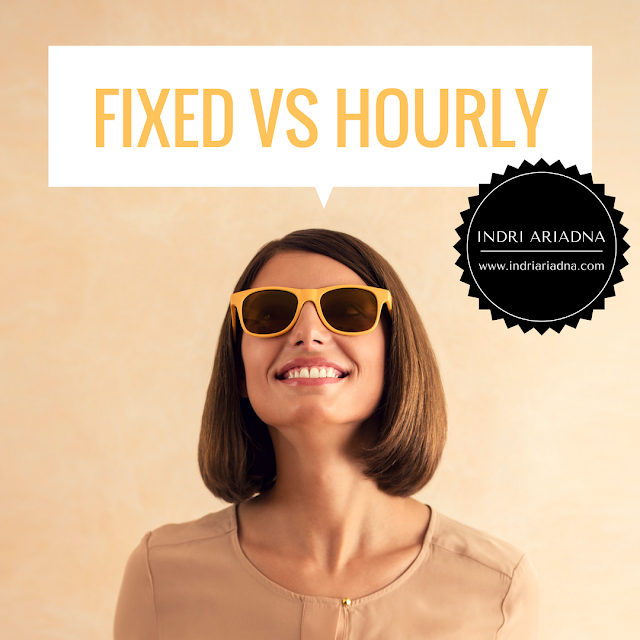 perbedaan fixed rate vs hourly rate upwork