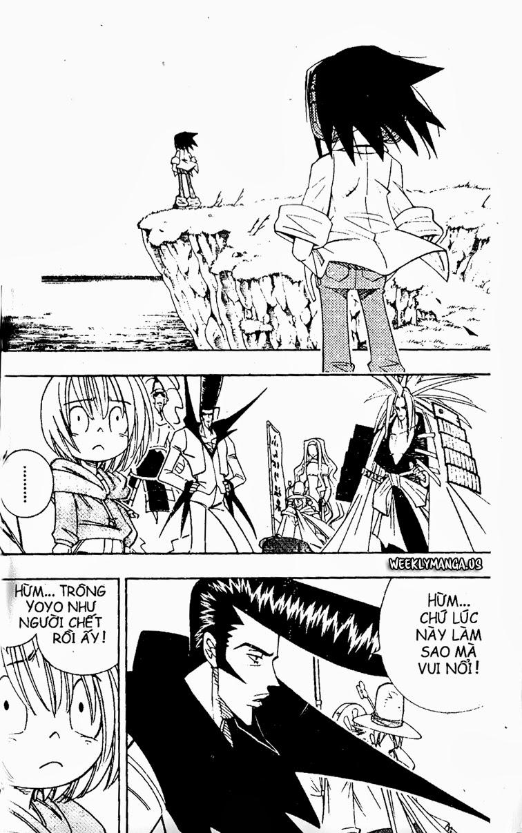 Shaman King [Vua pháp thuật] chap 178 trang 3