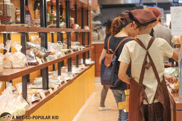 Kumori Bakery in Mall of Asia