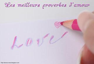 meilleurs proverbe damour love