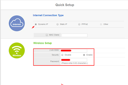 Cara Mengubah SSID Wireless N Router Netis WF2411E