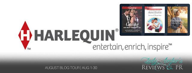 Harlequin August Recommended Reads banner