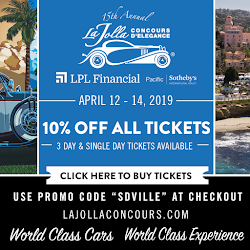 Save On Passes & Enter To Win VIP Tickets To The La Jolla Concours D'Elegance - April 12-14!