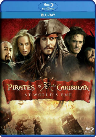 Pirates Of The Caribbean at Worlds End 2007 BRRip Hindi Dual Audio ...