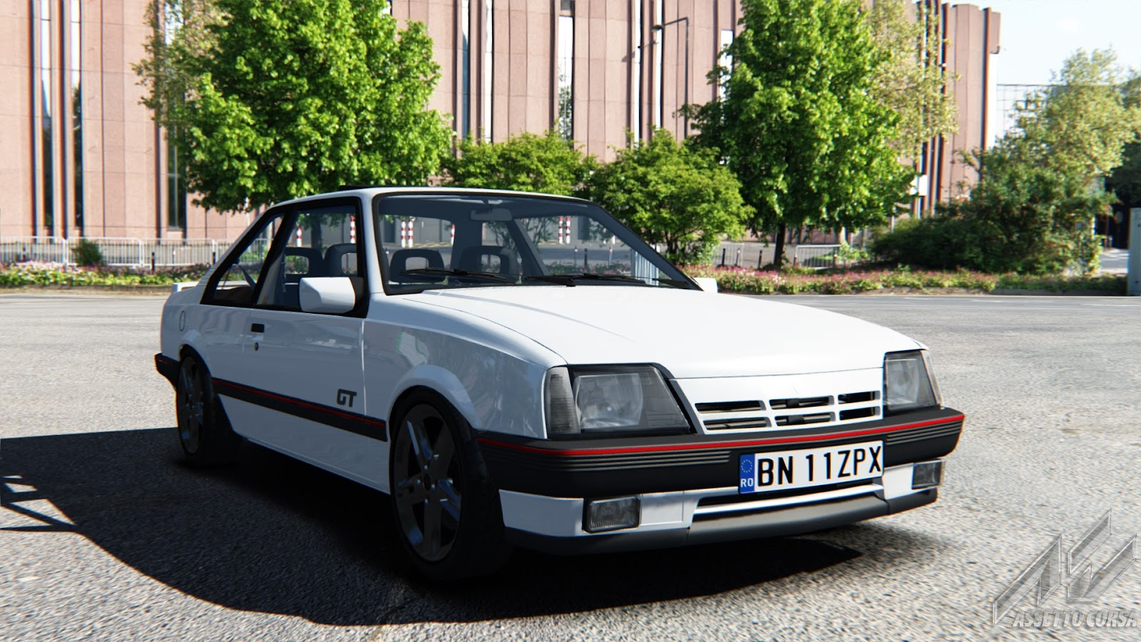 assetto corsa cars opel ascona c gt downloads mods mods downloads. Black Bedroom Furniture Sets. Home Design Ideas