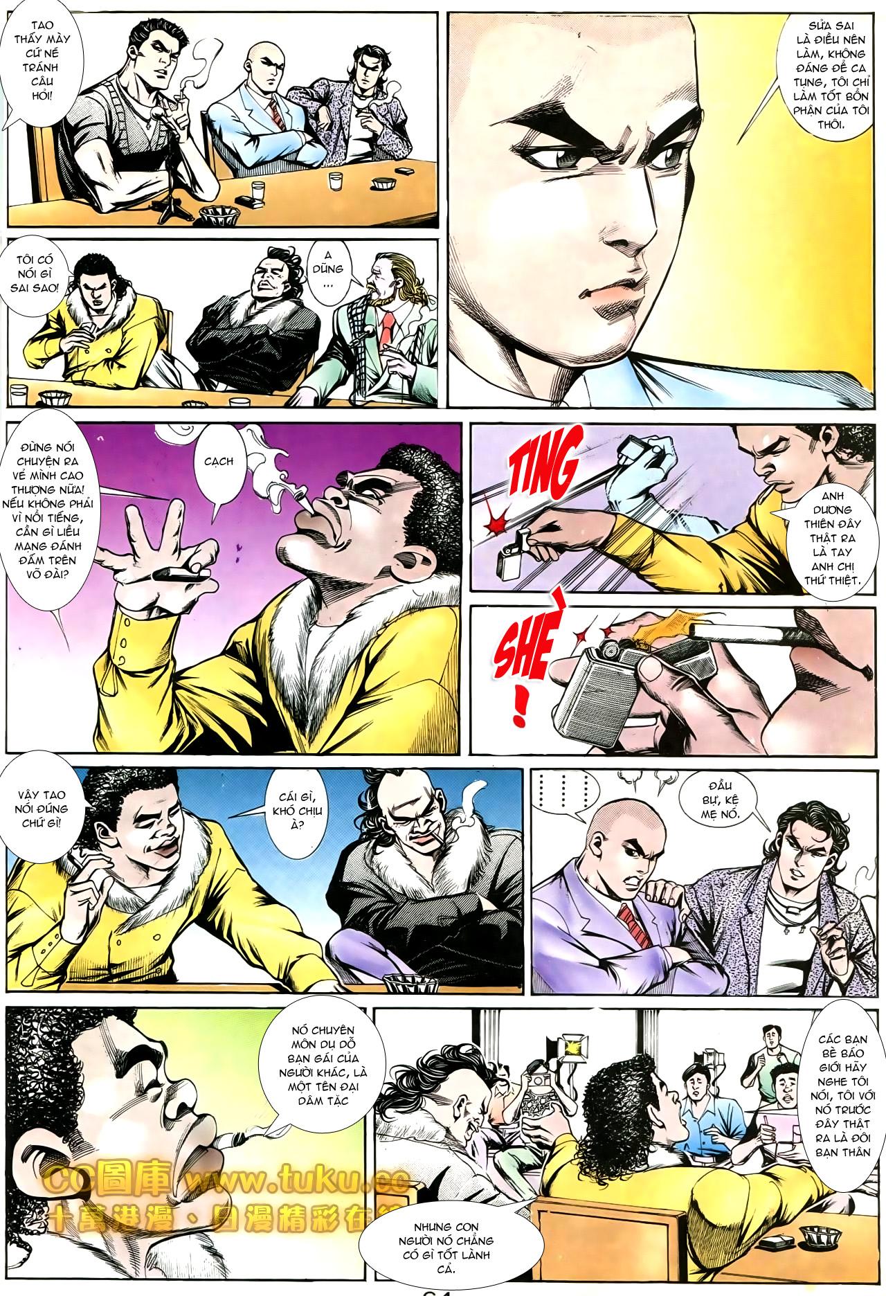 Người Trong Giang Hồ chapter 194: ngờ vực của đại phi trang 9