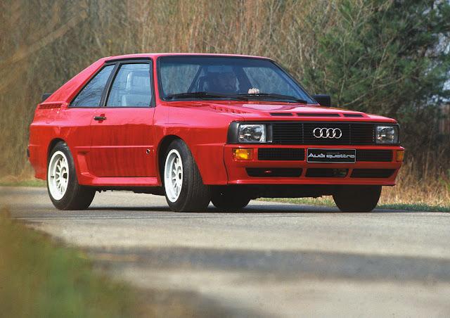 Audi Quattro Sport 1980