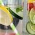 Receta de agua detox de pepino, limón y menta