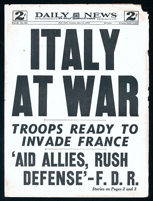11 June 1940 worldwartwo.filminspector.com Daily News