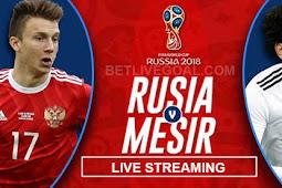 Live Streaming Russia vs Mesir 20 Juni 2018