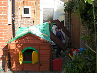 dismantling toy house