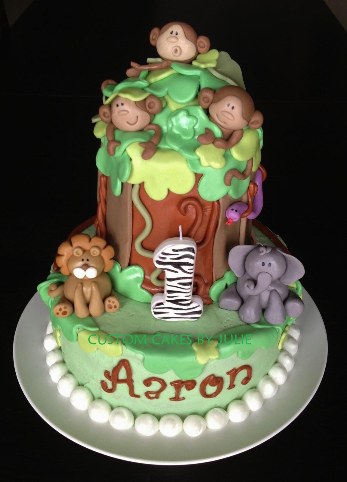 Custom Cakes By Julie Jungle Cake