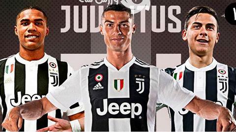 Sự xuất hiện của Cristiano Ronaldo trong đội hình Juventus.