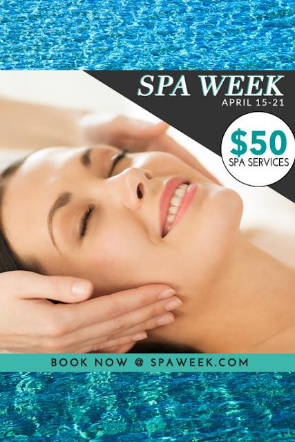 Spa Week Spring 2019 $50 Treatments Nationwide