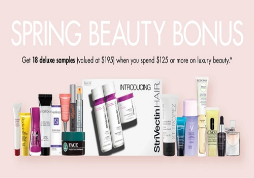Shoppers Drug Mart Beauty Boutique Free Spring Beauty Bonus
