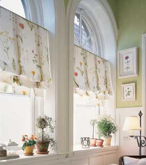 Lynn Morris Interiors Window Treatments For Unusual Windows