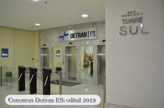 Concurso Detran ES: edital 2019