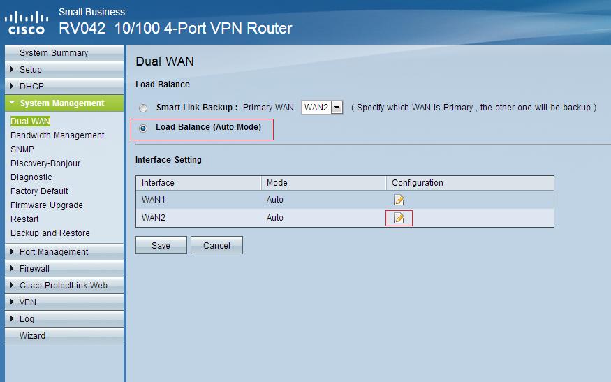 Balanceamento de Carga com Roteador Cisco RV042 | Blog do Danilo