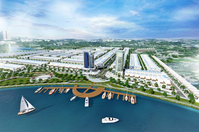 Phối cảnh dự án Sunriver City sát cạnh FPT City
