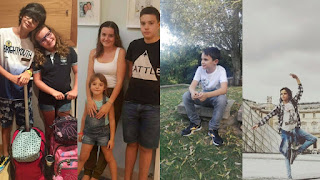 Portuguese youth plaintiffs, from left to right: Simão and Leonor; Cláudia, Martim and Mariana; André and Sofia (Photos Credit: ) GLAN) Click to Enlarge.