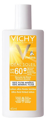 Protect and perfect with a tinted mineral sunscreen from Vichy, Avene and La Roche-Posay!