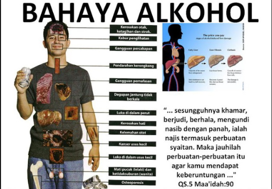 Bahaya Alkohol untuk Kesehatan Tubuh