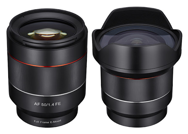 Ottiche Samyang AF per mirrorless Sony E