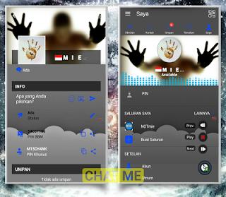 BBM Chat Me Transmod Update Terbaru v3.3.8.74 APK Gratis