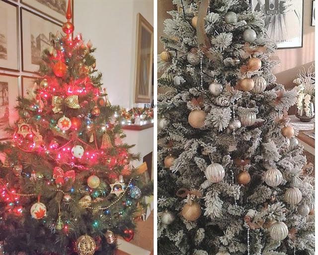 Glia alberi di Natale degli amici della pagina facebook di questo blog