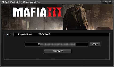 mafia 2 cd key generator free download
