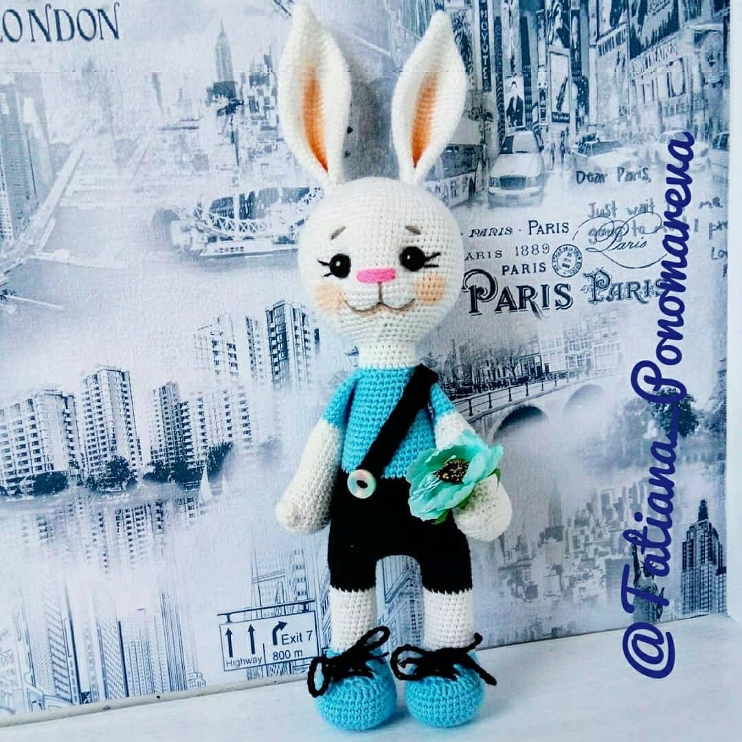 Crochet Bunny Free Pattern Amiguroom Toys