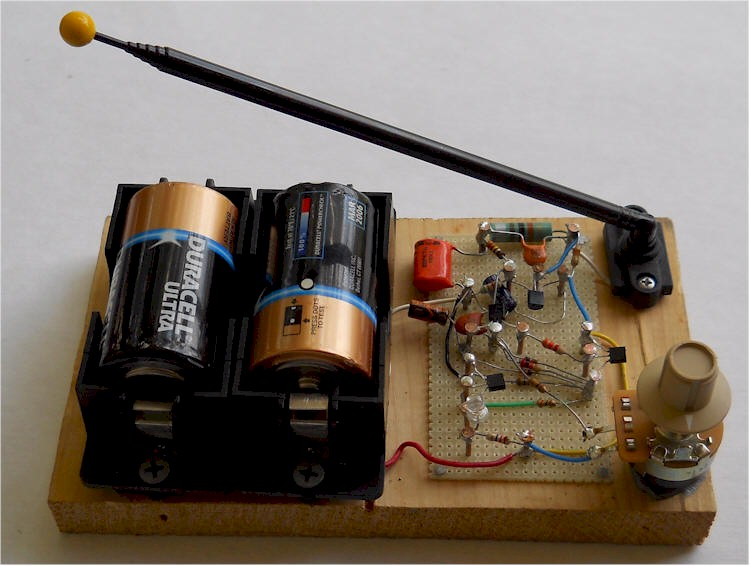 One Transistor Metal Detector Measuringandtestcircuit Circuit