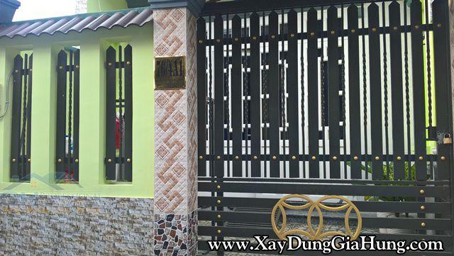 Mẫu cửa cổng sắt GH1551 giá rẻ