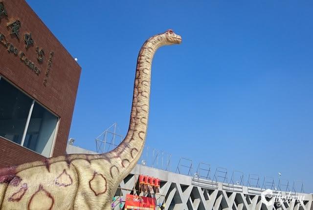 【2017南投燈會】恐龍樂園展-南投市區內出現侏儸紀恐龍了~搶先看展場