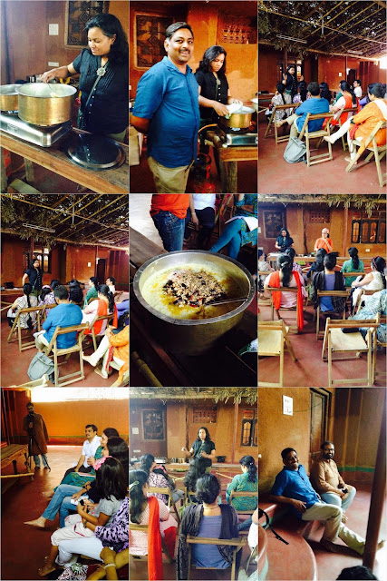 cooking with millets workshop by Sangeeta Khanna