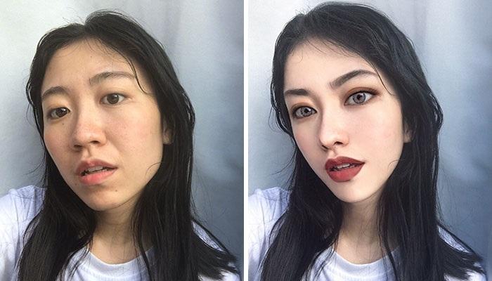10 Foto Hasil Photoshop Ini Buktikan kalau Cantik Tak Perlu Operasi