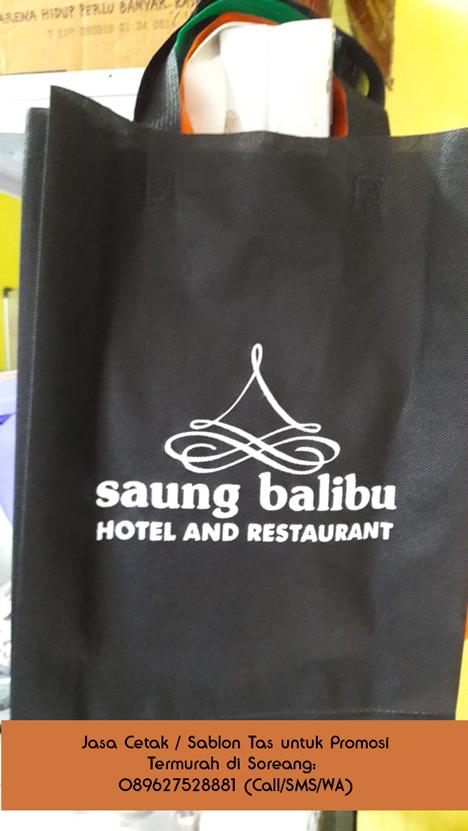 anda membutuhkan Jasa Cetak / Sablon Tas Termurah di Soreang? Hubungi 089627528881 (Call/SMS/WA)