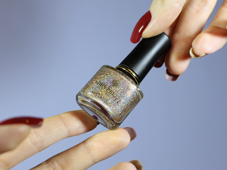 unhas holográficas como fazer unhas para o natal de natal passo a passo tutorial