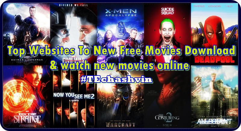 Top Websites To New Free Movies Download watch new movies online ...