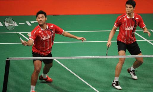 Perempat Final New Zealand Open Grand Prix Gold 2016