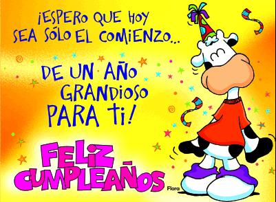 Frases para dar el feliz cumpleaños, Imagenes de Cumpleaños con frases