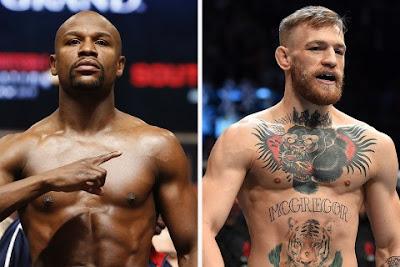 McGREGOR e Mayweather é de duelo de gigantes no UFC 26/07/2017