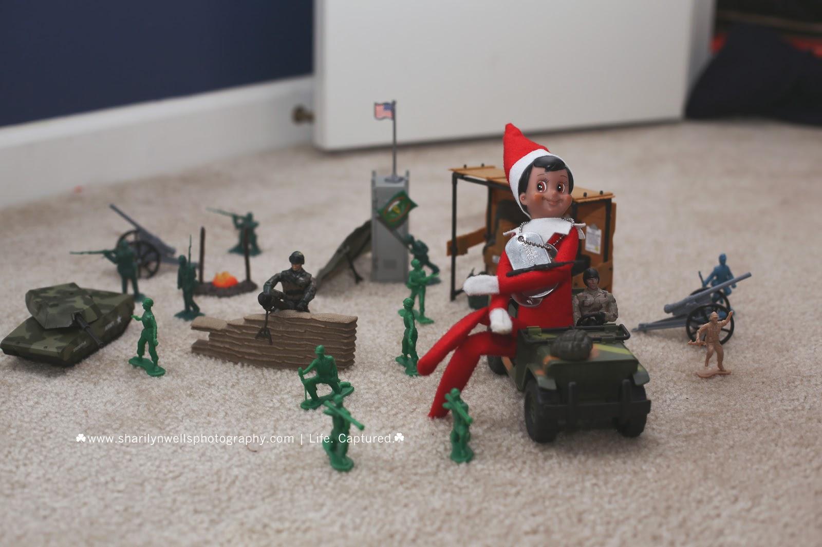 Sharilyn Wells Photography Fun Boy Elf On The Shelf Ideas