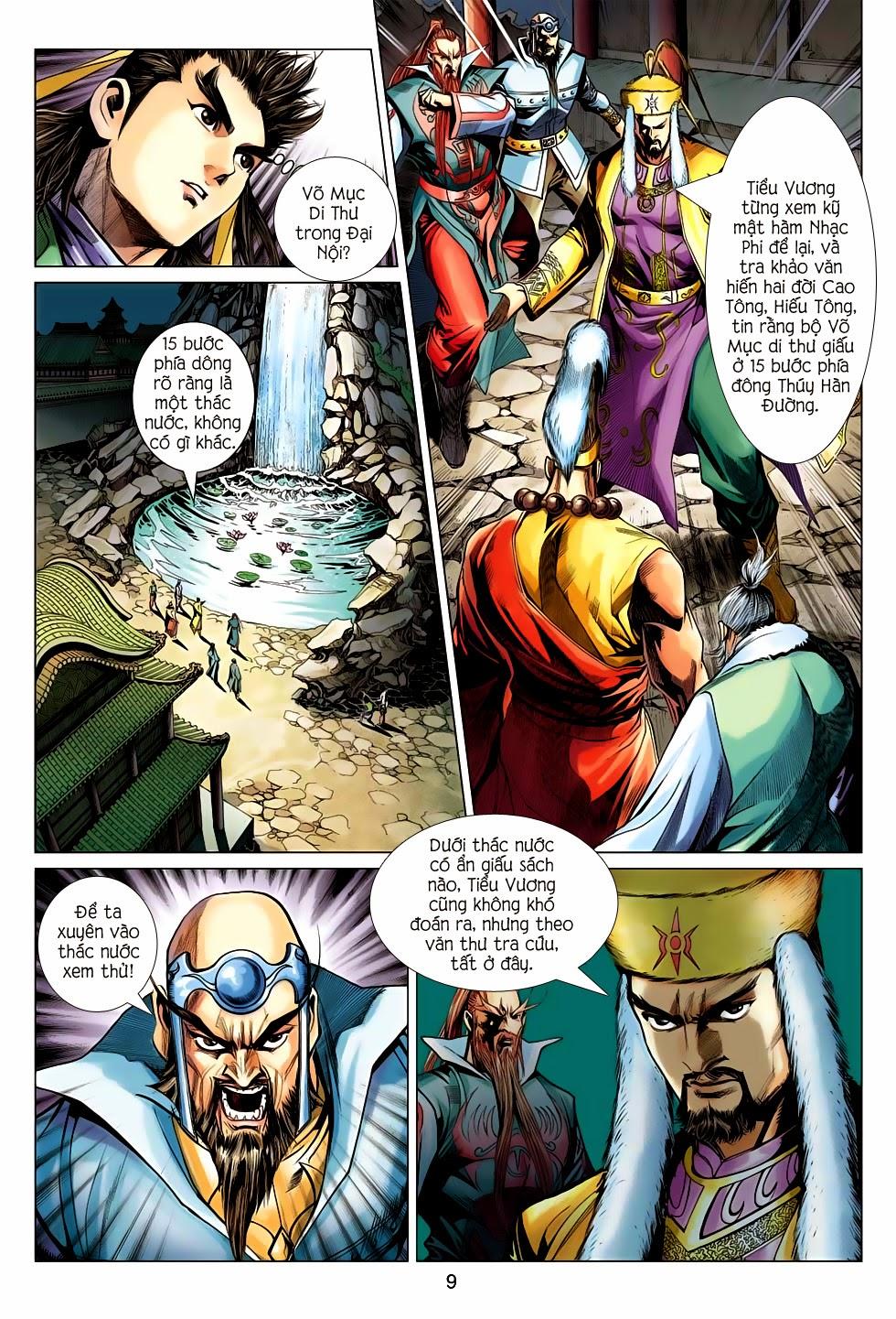 Anh Hùng Xạ Điêu anh hùng xạ đêu chap 56: tuyệt tình vô nghĩa lãnh huyết ác niệm trang 9