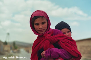 Agoudal children morocco